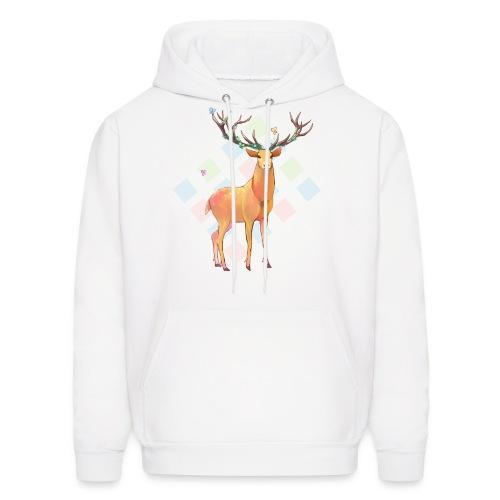 Deer and Diamonds - Men's Hoodie