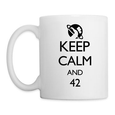 Keep Calm and 42 VECTOR Gift