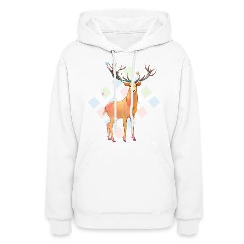 Deer and Diamonds - Women's Hoodie
