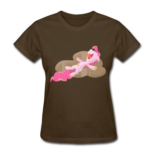 S2EP1 - PinkiePie Chocolate Rain [F/B] - Women's T-Shirt
