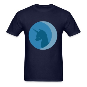 LUNA ep1 LOGO /m - Men's T-Shirt