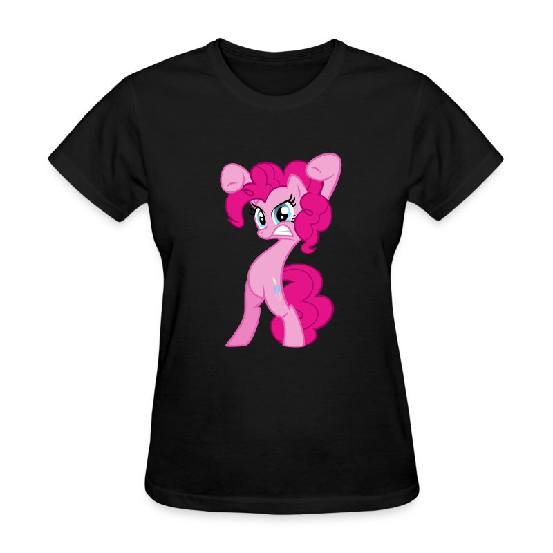 Pinkie Pie - Zacora Black/F - Women's T-Shirt