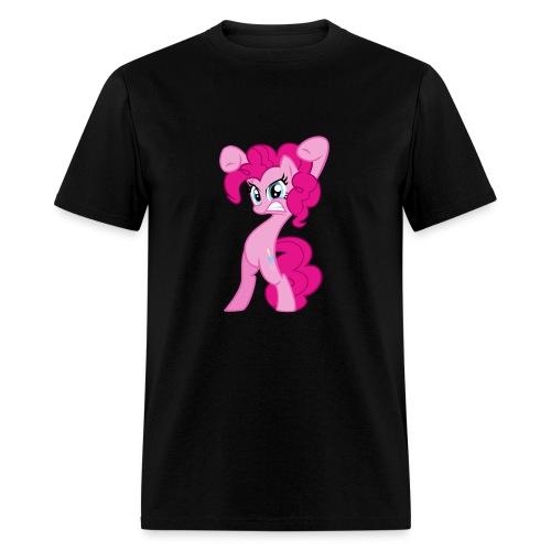 Pinkie Pie - Zacora Black/M - Men's T-Shirt