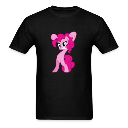 Pinkie Pie - Zacora Black/M - Men's T-Shirt