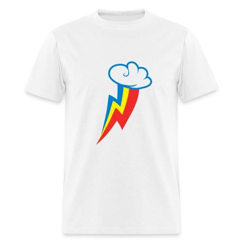 Rainbow Dash Cutie Mark M/White - Men's T-Shirt