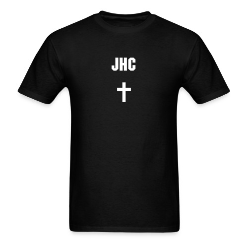 JHC - Cross Standard Black - Men's T-Shirt