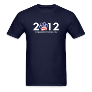 T-Shirts ~ Men's T-Shirt ~ Official Dogs Against Romney
