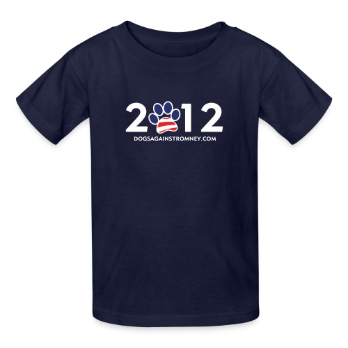Official Dogs Against Romney 2012 Kid's Tee - Kids' T-Shirt