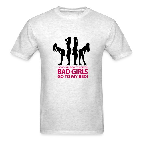 Good girl Bad girl - Men's T-Shirt