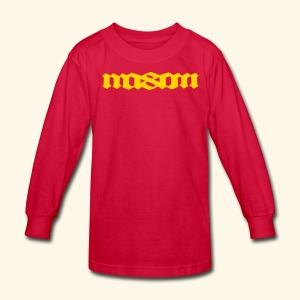 MASON POPULAR FIRST NAMES - Kids' Long Sleeve T-Shirt