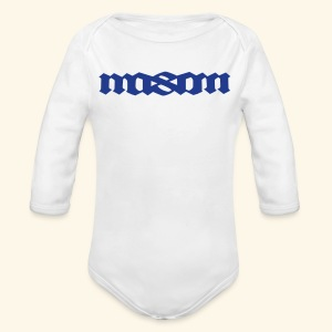 MASON POPULAR FIRST NAMES - Long Sleeve Baby Bodysuit