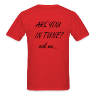 T-Shirts ~ Men's T-Shirt ~ Are you in tune?