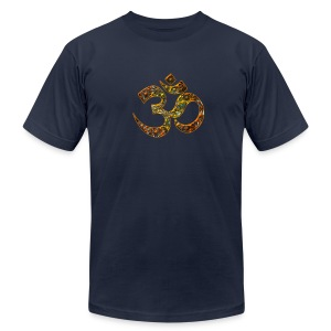 OM (AUM - I AM), manifestation of spiritual strength, Energy Symbol / sacred symbol, DD T-Shirts - Men's T-Shirt by American Apparel