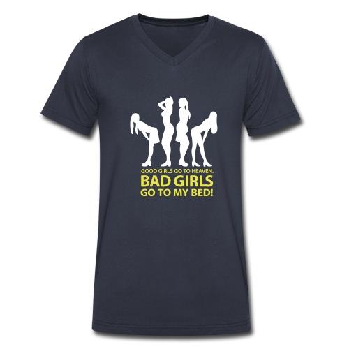 BH BG shirt - Men's V-Neck T-Shirt by Canvas