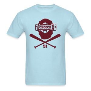 Chooch Mask & CrossBats Shirt Retro - Men's T-Shirt
