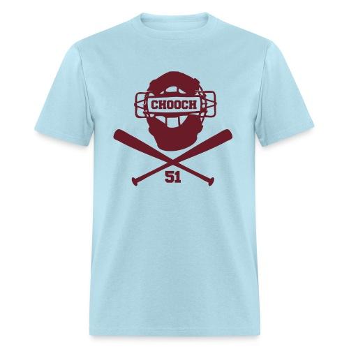 Chooch Mask & CrossBats Shirt Retro - Men's T-Shirt