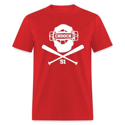 Chooch Mask & CrossBats Shirt - Men's T-Shirt