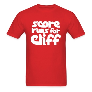 Score Runs For Cliff Shirt - Men's T-Shirt