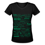 T-Shirts ~ Women's V-Neck T-Shirt ~