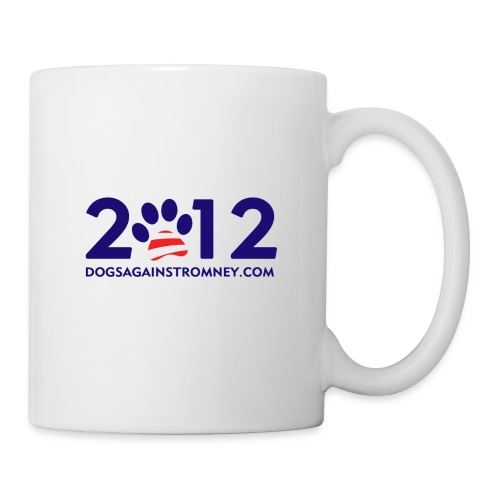 Official Dogs Against Romney 2012 Mug -  White - Coffee/Tea Mug