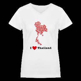 I Love Thailand V-Neck ~ 617