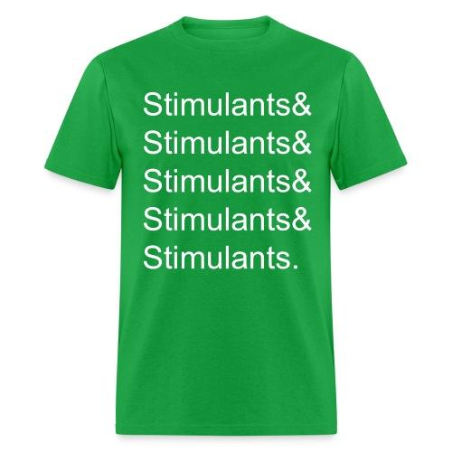 Stimulants& - Men's Standard Weight Tee - Men's T-Shirt