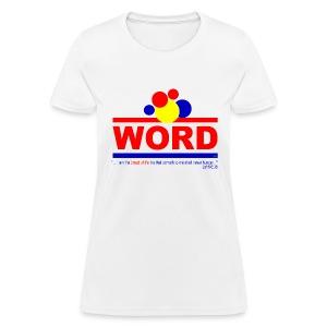 Word (womens) - Women's T-Shirt