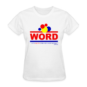 Word (womens) - Women's T-Shirt