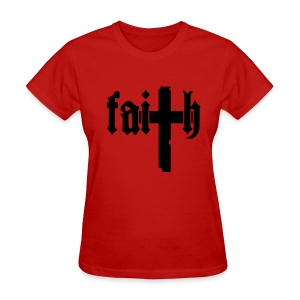 faiTh (womens) - Women's T-Shirt