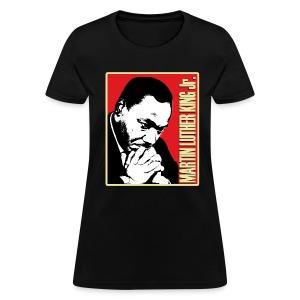 MLK Jr. (womens) - Women's T-Shirt