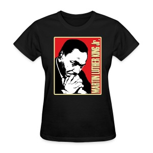 MLK Jr. (womens) - Women's T-Shirt