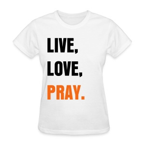 Live, Love, Pary. (womens) - Women's T-Shirt
