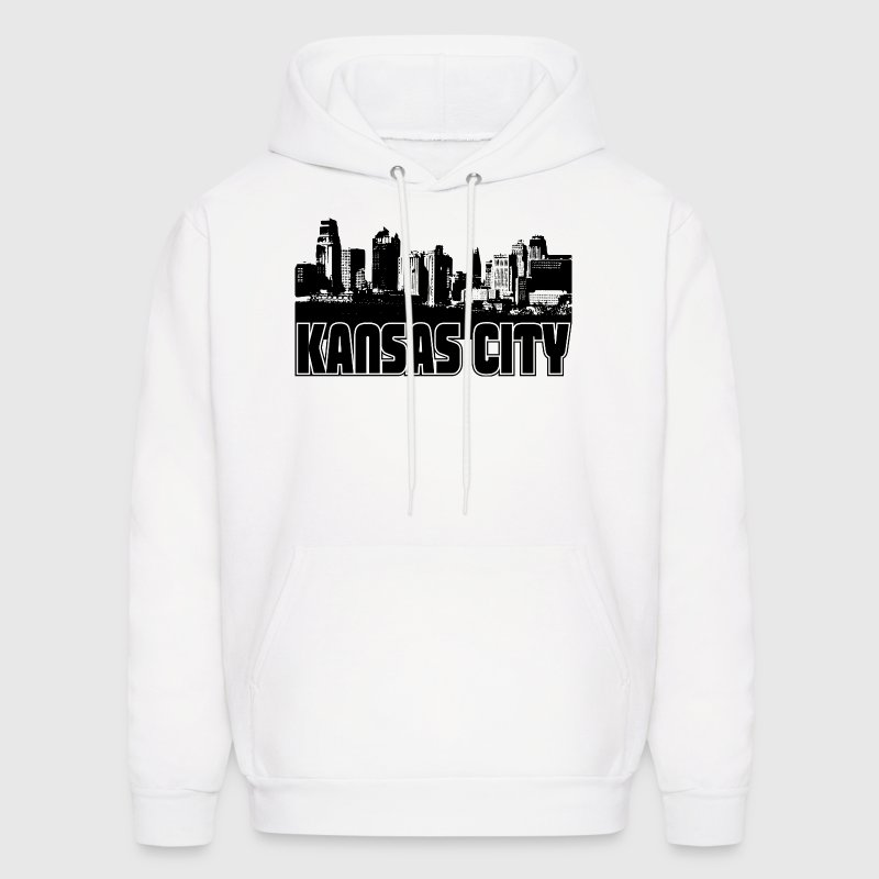 Kansas City Skyline Hooded Sweatshirt - Men's Hoodie