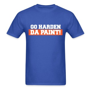 Go Harden Da Paint! Shirt - Harden Clean  - Men's T-Shirt