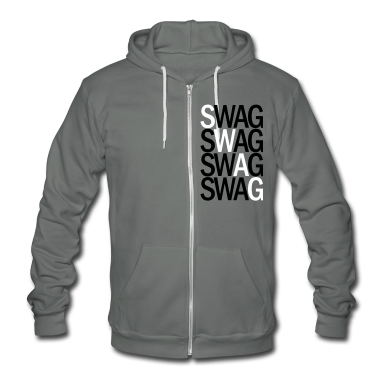 SWAG TWO COLOR VECTOR Zip Hoodies/Jackets