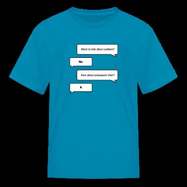 Chemistry Nerds Kids' Shirts