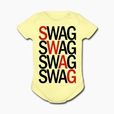 SWAG TWO COLOR VECTOR Baby Bodysuits