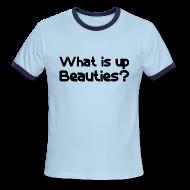 T-Shirts ~ Men's Ringer T-Shirt ~ Intro Shirt Am Apparel