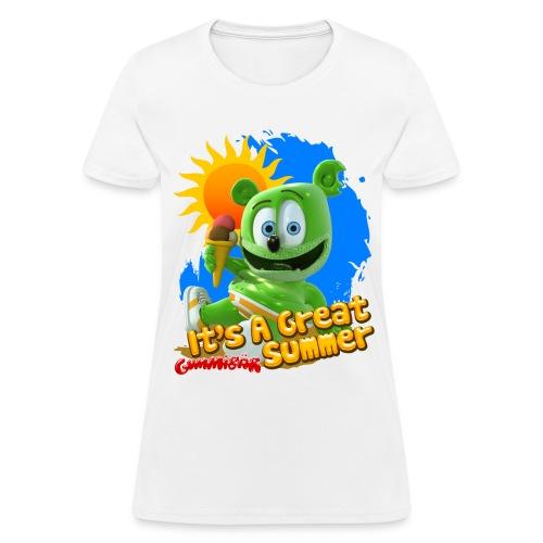 Gummibär (The Gummy Bear) It's A Great Summer Ladies T-Shirt - Women's T-Shirt