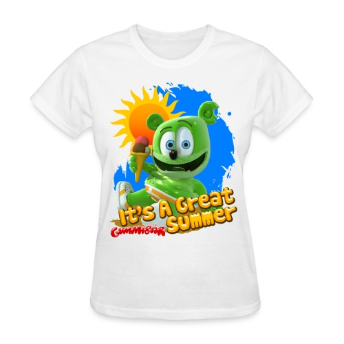 Gummibär (The Gummy Bear) It's A Great Summer Ladies T-Shirt - Women's T-Shirt