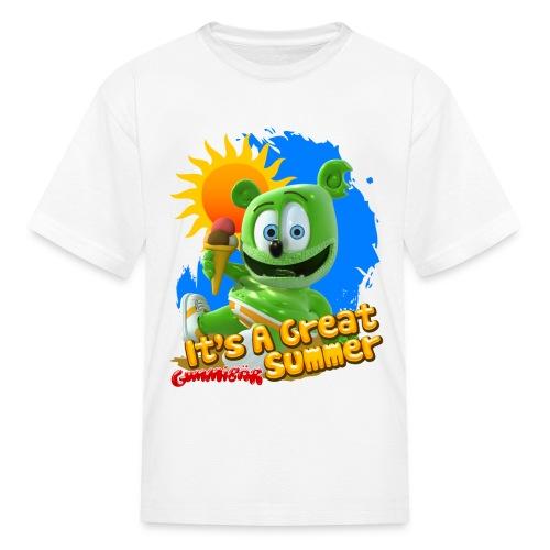Gummibär (The Gummy Bear) It's A Great Summer Kids' T-Shirt - Kids' T-Shirt
