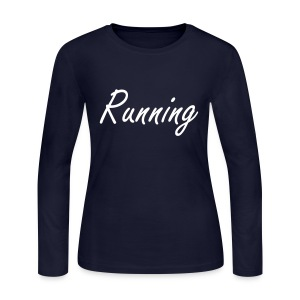 Running - Does A Body Good. - Women's Long Sleeve Jersey T-Shirt
