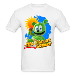Gummibär (The Gummy Bear) It's A Great Summer Men's T-Shirt - Men's T-Shirt