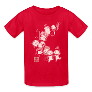 Kids' Shirts ~ Kids' T-Shirt ~ BFF Parade Kids RED