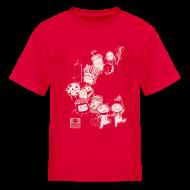 Kids' Shirts ~ Kids' T-Shirt ~ BFF Parade Kids RED