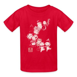 BFF Parade Kids RED - Kids' T-Shirt