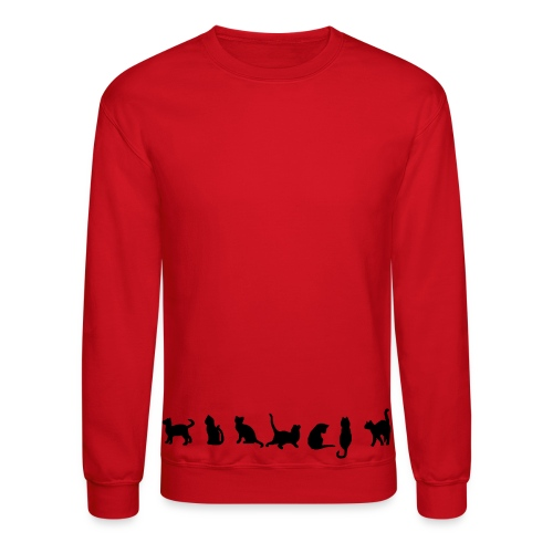 Kitties in a Line - Crewneck Sweatshirt