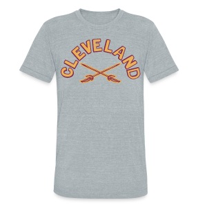 CLE CAV - Unisex Tri-Blend T-Shirt by American Apparel