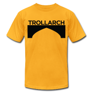 T-Shirts ~ Men's T-Shirt by American Apparel ~ Trollarch Staff American Apparel