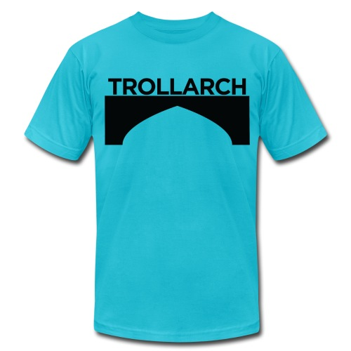 Trollarch Staff American Apparel - Men's Fine Jersey T-Shirt
